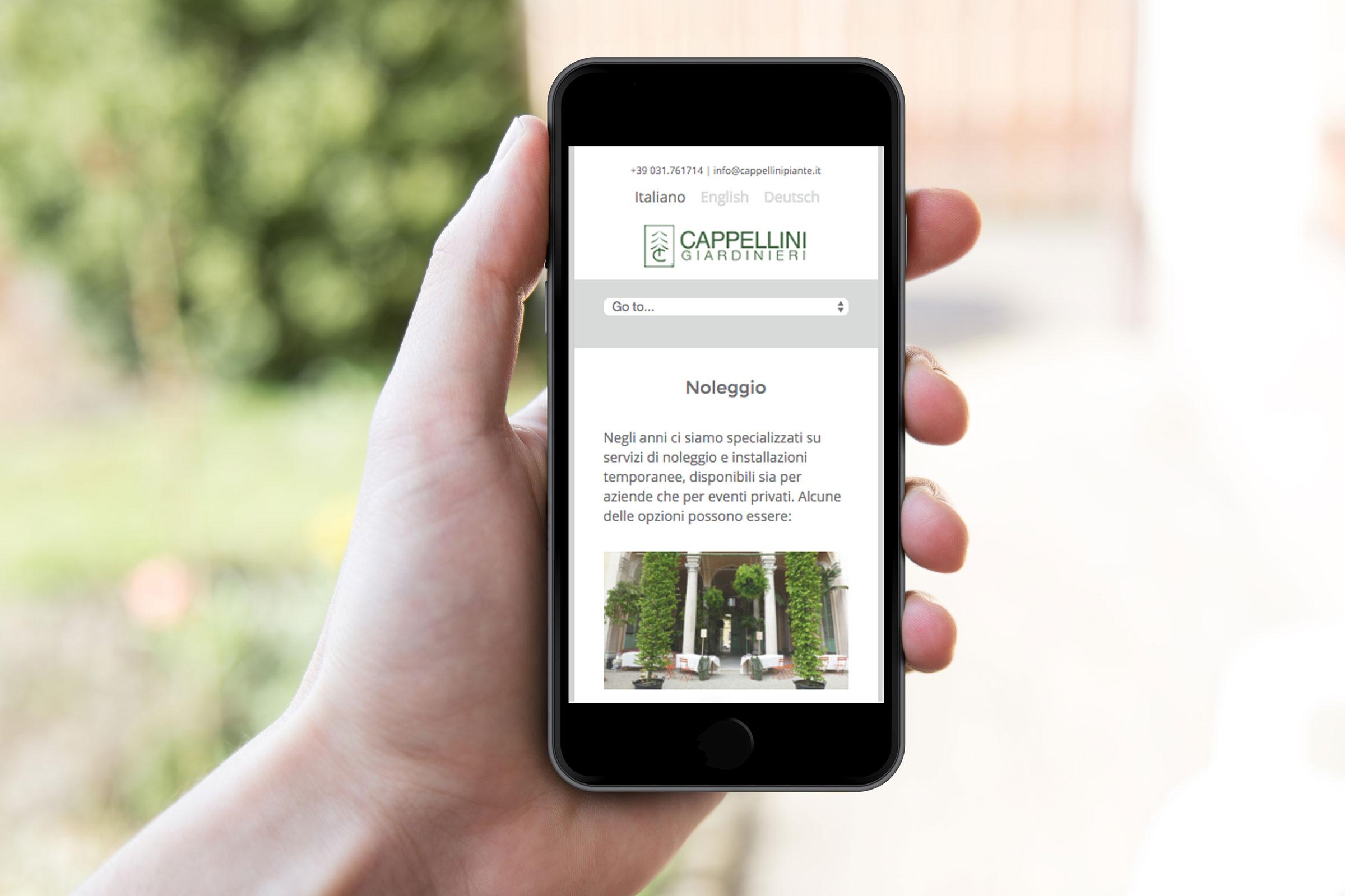 realizzazione sito web responsive mobile