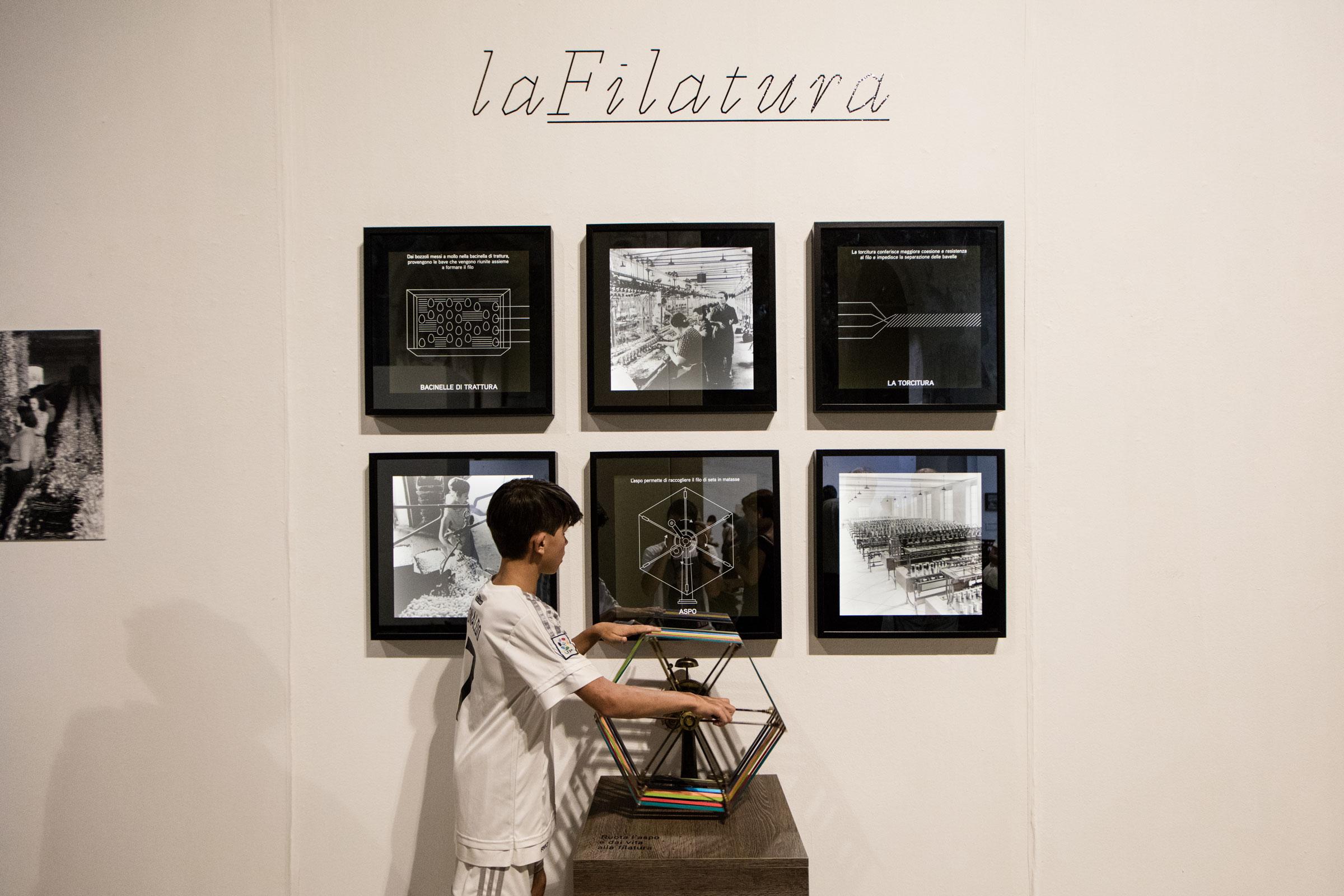 mostra fotografica interattiva