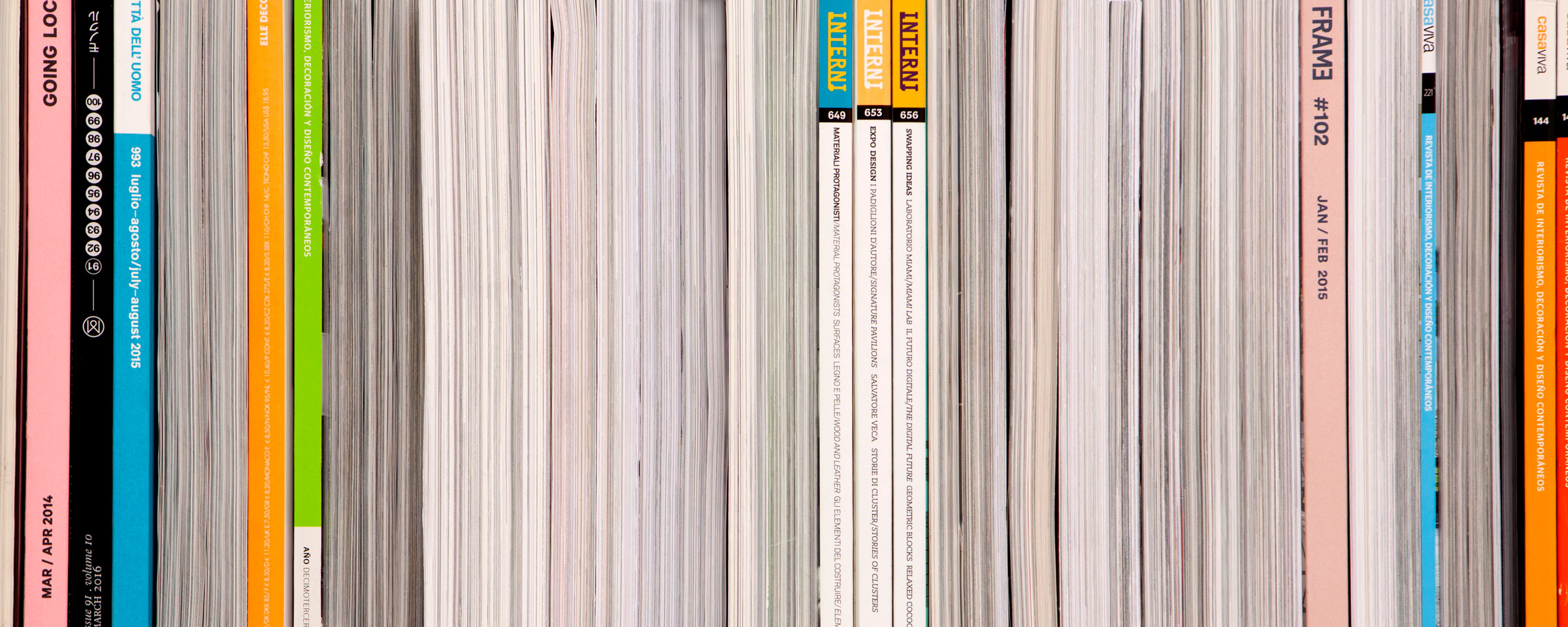 composizione collage still life cataloghi