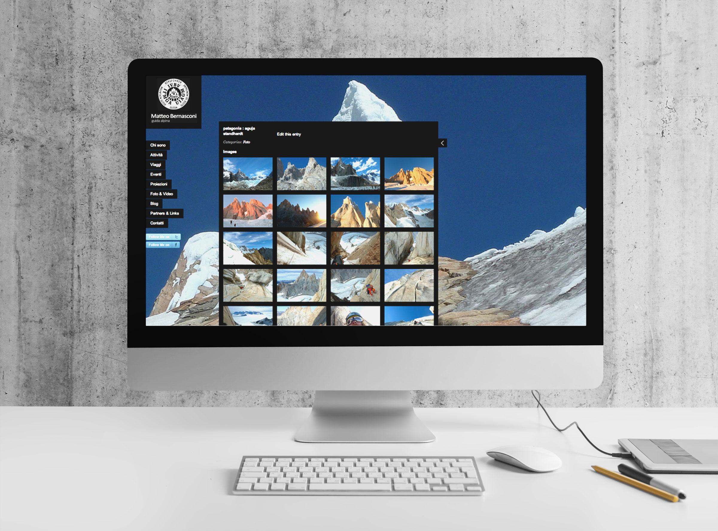 creazione sito internet desktop