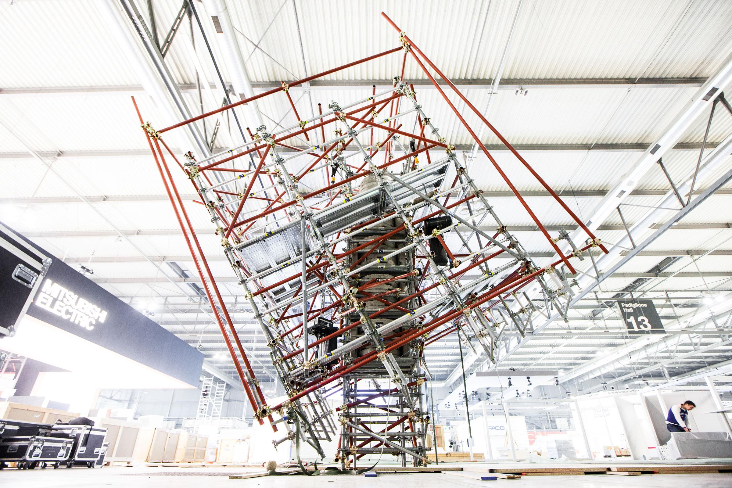 reportage aziendale fotografia cubo struttura
