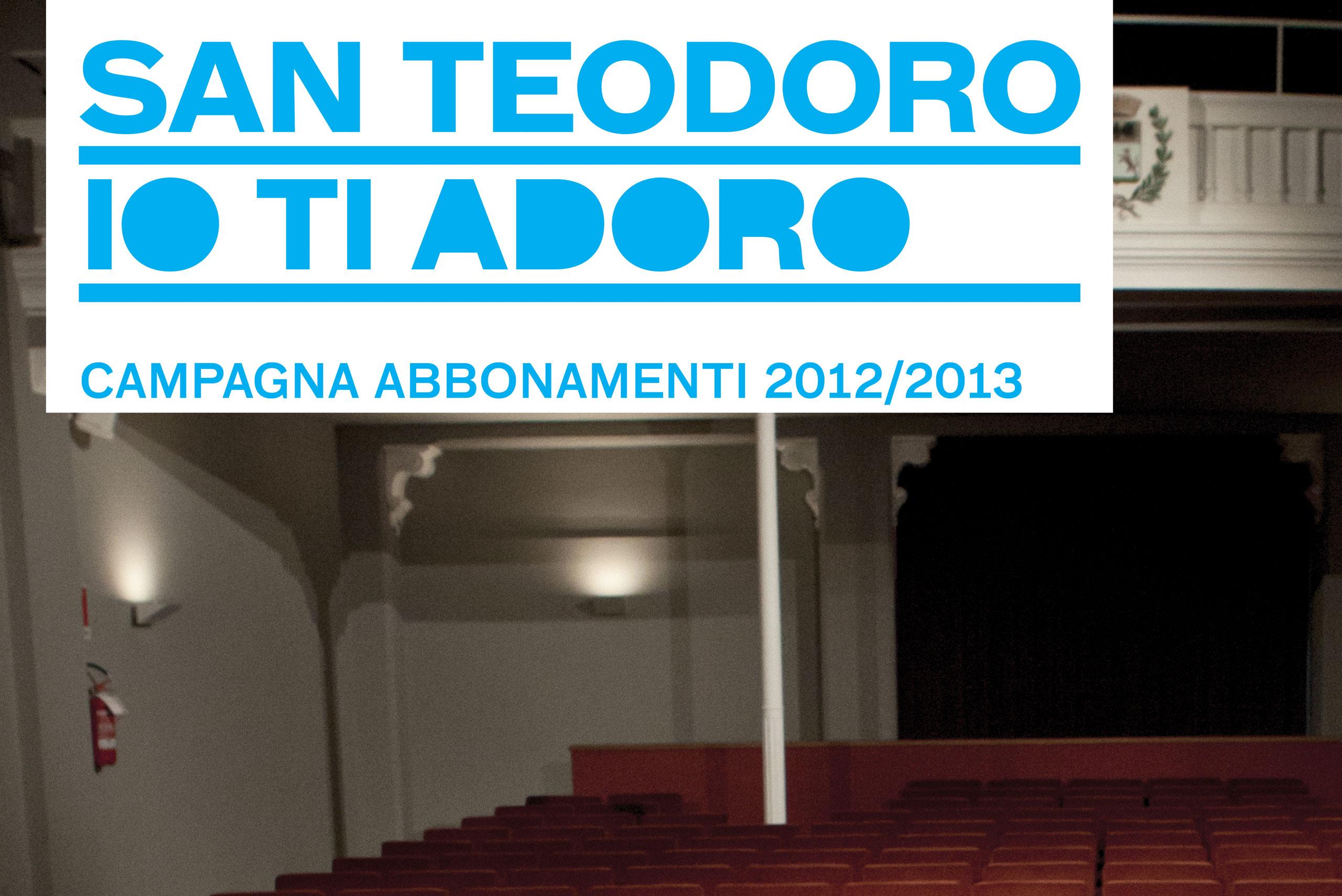 1 - design logo campagna promozionale teatro