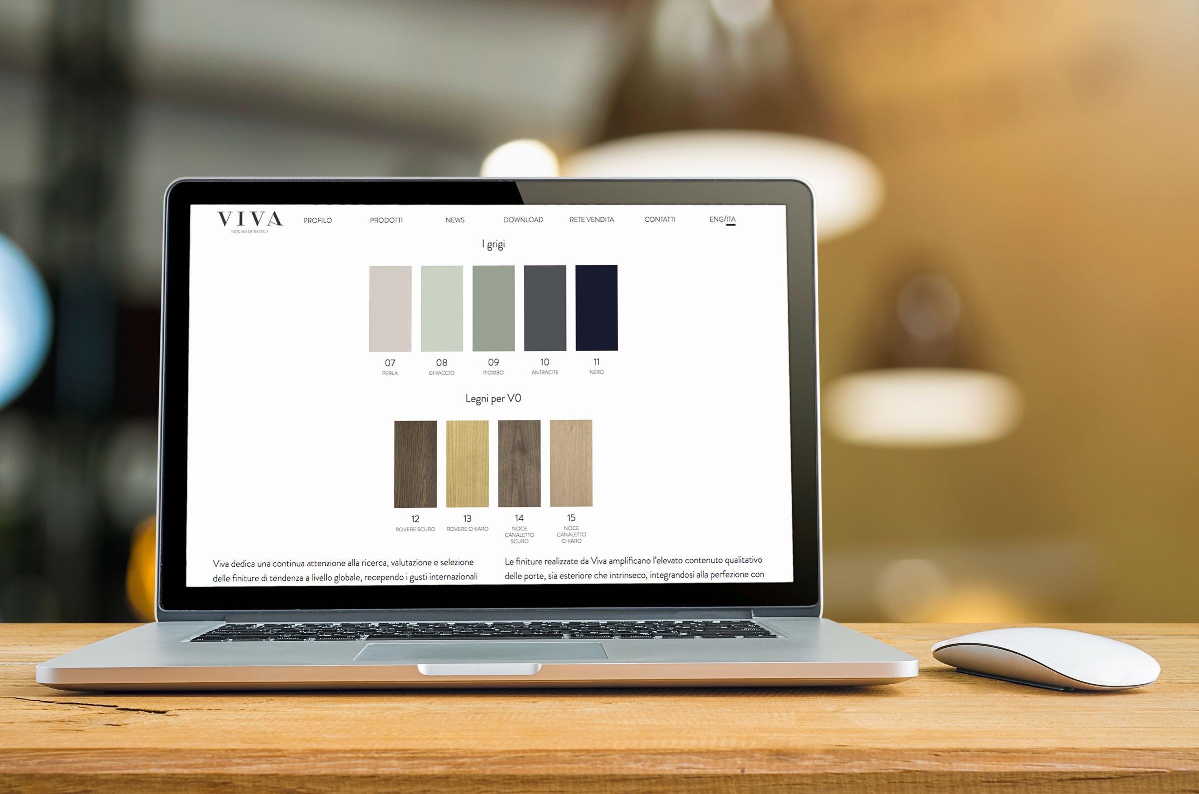 creazione sito internet vivaporte homepage