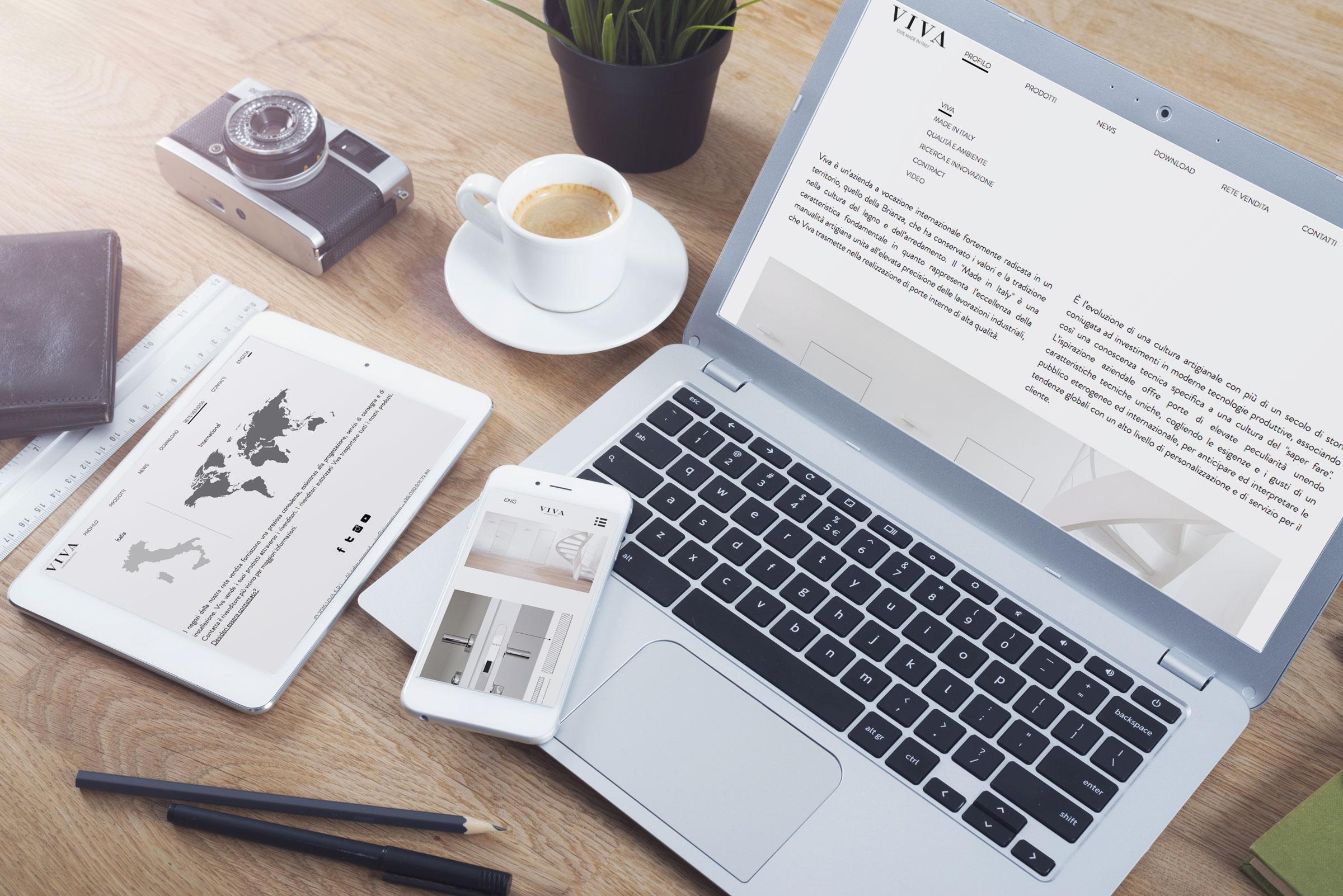 creazione sito internet vivaporte responsive