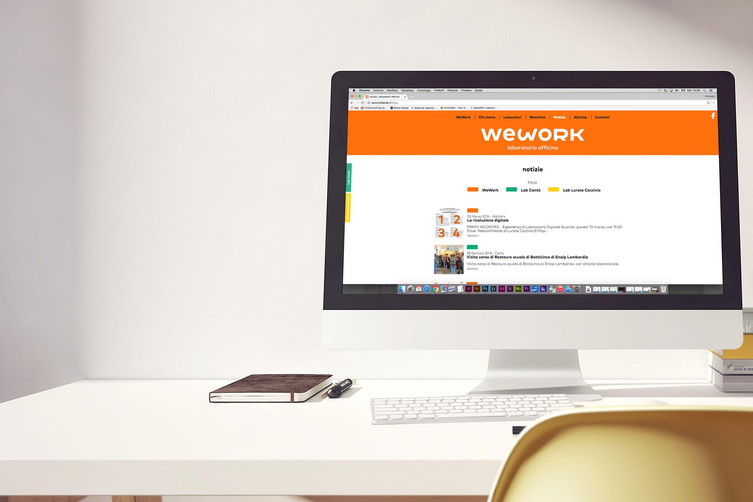 sito internet responsive desktop
